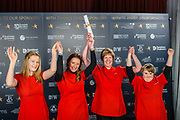 Scottish Border of Chamber Border Busines awards, 2017, held at Springwood Hall.<br /> <br /> 'Supporting Young Workforce Business of the Year' - Special Commendation  ~ Aquarius Hair Design, based in Earlston. Sponsored by Developing Young Workforce.