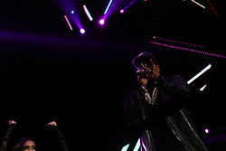 LOS ANGELES, CA - JANUARY 21 Don Omar performs on stage during Calibash 2017 at the Staples Center in downtown Los Angeles on Saturday night 2016 January 21. Byline, credit, TV usage, web usage or linkback must read SILVEXPHOTO.COM. Failure to byline correctly will incur double the agreed fee. Tel: +1 714 504 6870. LOS ANGELES, CA - JANUARY 21 Don Omar performs on stage during Calibash 2017 at the Staples Center in downtown Los Angeles on Saturday night 2016 January 21. Byline, credit, TV usage, web usage or linkback must read SILVEXPHOTO.COM. Failure to byline correctly will incur double the agreed fee. Tel: +1 714 504 6870.