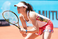 Swiss Martina Hingis during Mutua Madrid Open Sub16 Tennis 2017 at Caja Magica in Madrid, May 13, 2017. Spain.<br /> (ALTERPHOTOS/BorjaB.Hojas)