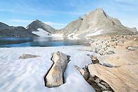 Nylon Peak Noel Lake. Bridger Wilderness, Wind River Range Wyoming