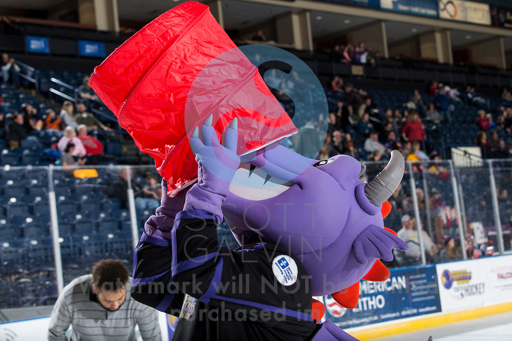 Youngstown Phantoms win 5-3 against the Tri-City Storm at the Covelli Centre on January 18, 2020.<br /> <br /> Sparky