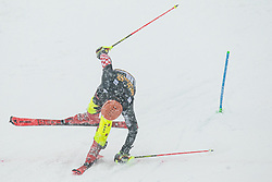 Filip Zubcic (CRO) during the Audi FIS Alpine Ski World Cup Men's  Slalom at 60th Vitranc Cup 2021 on March 14, 2021 in Podkoren, Kranjska Gora, Slovenia Photo by Grega Valancic / Sportida