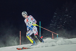 """29.01.2019, Planai, Schladming, AUT, FIS Weltcup Ski Alpin, Slalom, Herren, 1. Lauf, im Bild Clement Noel (FRA) // Clement Noel of France DNF his 1st run of men's Slalom """"the Nightrace"""" of FIS ski alpine world cup at the Planai in Schladming, Austria on 2019/01/29. EXPA Pictures © 2019, PhotoCredit: EXPA/ Dominik Angerer"""