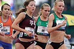 Olympic Trials Eugene 2012: women's 10,000 meter final, Lisa Uhl stalks leader, takes 4th, makes Olympic team
