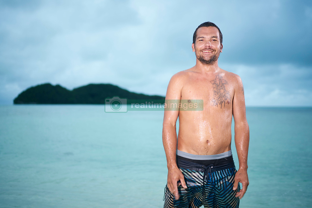 """EXCLUSIVE: Heir to a $100m fortune, Junior Larry Hillbroom is living in virtual exile on his native Palau. The son of DHL boss, Larry Hillblom is accused of persuading two women to bring a form of meth known as """"ice"""" from the Philippines. He is currently unable to leave his native Palau under bail conditions while he awaits trial. ***The Sun, OUT People Mag OUT, NY Daily News OUT***. 02 Feb 2017 Pictured: Junior Larry Hillbroom. Photo credit: John Chapple / JohnChapple.com / MEGA TheMegaAgency.com +1 888 505 6342"""
