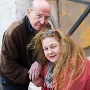 Theòdoros Angelòpoulos is a Greek filmmaker, screenwriter and film producer, here posing in Venice during Incontri di Civilta' ----------------------<br /> Marco Secchi/XianPix<br /> email msecchi@gmail.com<br /> http://www.marcosecchi.com