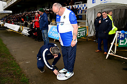 sponsored weight loss - Mandatory by-line: Dougie Allward/JMP - 23/12/2017 - FOOTBALL - Memorial Stadium - Bristol, England - Bristol Rovers v Doncaster Rovers - Skt Bet League One