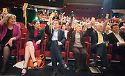© Licensed to London News Pictures. 14/03/2015. Liverpool, UK. Jo Swinson, Nick Clegg, Rachel Smith, Vince Cable, Danny Alexander.  The Liberal Democrat Spring Conference in Liverpool 14th March 2015. Photo credit : Stephen Simpson/LNP