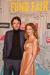 Natalia Vodianova and Antoine Arnault at the Fabulous Fund Fair in aid of Natalia Vodianova's Naked Heart Foundation in association with Luisaviaroma held at The Round House, Camden, London England. 18 February 2019.