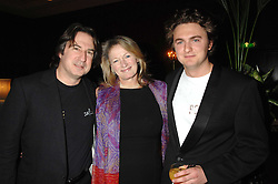 Left to right, MR MARTIN & the HON.LAURA LEVI and her son SONNY MALLET at a dinner to promote the Holders Season in Barbados held at The Four Seasons Hotel, Hamilton Place, London W1 on 30th January 2008.<br /><br />NON EXCLUSIVE - WORLD RIGHTS (EMBARGOED FOR PUBLICATION IN UK MAGAZINES UNTIL 1 MONTH AFTER CREATE DATE AND TIME) www.donfeatures.com  +44 (0) 7092 235465