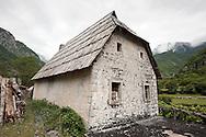 House in Theth, Peaks of the Balkans Trail, Albania © Rudolf Abraham