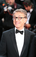 Actor Christoph Waltz at the The Coen brother's new film 'Inside Llewyn Davis' red carpet gala screening at the Cannes Film Festival Sunday 19th May 2013