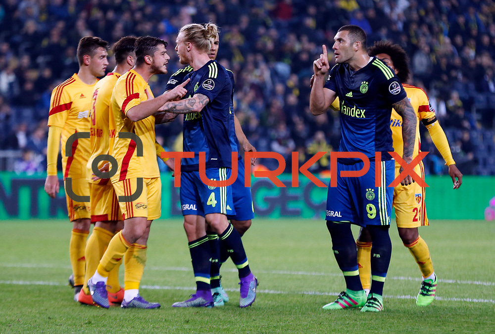 Fenerbahce's Fernandao during their Turkish super league soccer match Fenerbahce between Kayserispor at the Sukru Saracaoglu stadium in Istanbul Turkey on Sunday 13 March 2016. Photo by Str./TURKPIX