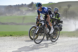 March 9, 2019 - Siena, Italia - Foto LaPresse - Fabio Ferrari.09 Marzo 2019 Siena (Italia).Sport Ciclismo.Strade Bianche 2019 - Gara uomini - da Siena a Siena.- 184 km (114,3 miglia).Nella foto: durante la gara..Photo LaPresse - Fabio Ferrari.March, 09 2019 Siena (Italy) .Sport Cycling.Strade Bianche 2018 - Men's race - from Siena to.Siena - 184 km (114,3 miles).In the pic: during the race (Credit Image: © Fabio Ferrari/Lapresse via ZUMA Press)