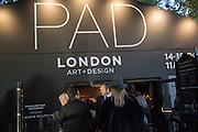 Preview of Pad. Berkeley Sq. London. 12 October 2015