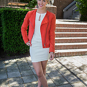 NLD/Amsterdam/20140613 - Leco van Zadelhoff organiseert samen met Beau Monde Beau Bateau een vaartocht met vriendinnen, Liza Sips