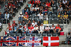 Fans in the grandstand.<br /> 08.10.2016. Formula 1 World Championship, Rd 17, Japanese Grand Prix, Suzuka, Japan, Qualifying Day.<br />  Copyright: Bearne / XPB Images / action press