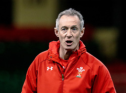 /Rob Howley Attack Coach of Wales<br /> <br /> Photographer Simon King/Replay Images<br /> <br /> Six Nations Round 5 - Wales v Ireland Captains Run - Saturday 15th March 2019 - Principality Stadium - Cardiff<br /> <br /> World Copyright © Replay Images . All rights reserved. info@replayimages.co.uk - http://replayimages.co.uk