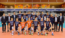 20150613 NED: World League Nederland - Finland, Almere<br /> Team Nederland