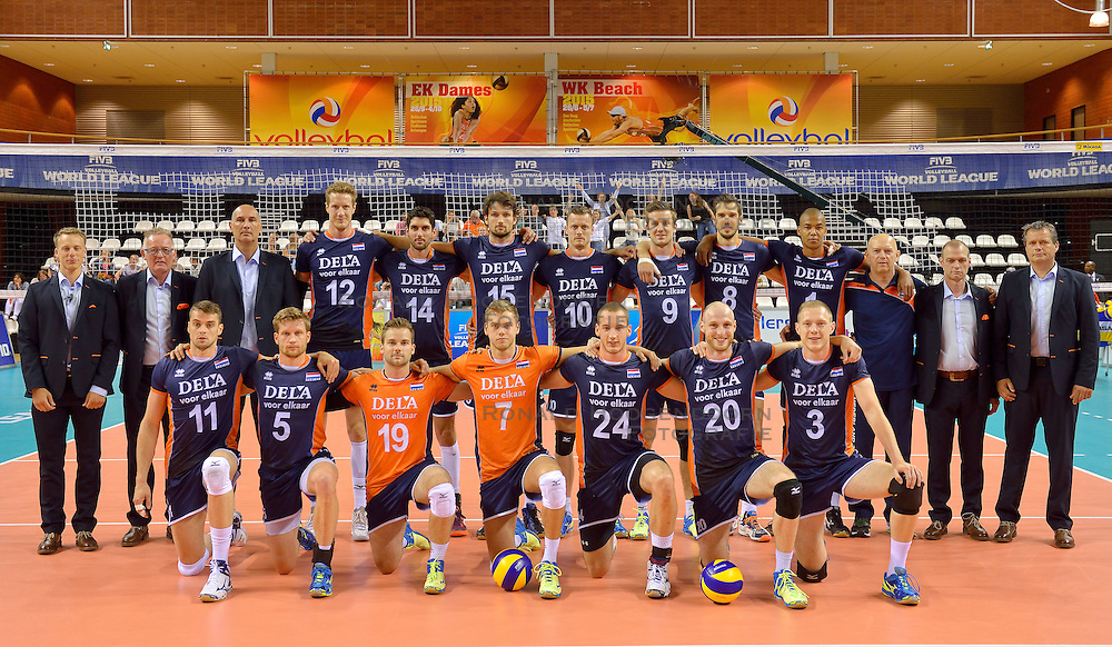20150613 NED: World League Nederland - Finland, Almere<br /> Team Nederland