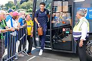 Wimbledon defender Will Nightingale (5) arrives during the EFL Sky Bet League 1 match between Burton Albion and AFC Wimbledon at the Pirelli Stadium, Burton upon Trent, England on 1 September 2018.
