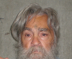 April 6, 2012 - Los Angeles, California, U.S. - New photos of notorious killer CHARLES MANSON have been released by the California Department of Corrections, one week before his next parole hearing.  Manson is up for parole on April 11. The Parole Board has denied Charles Manson 11 times since the 1970's.  (Credit Image: © California Department of Corrections/ZUMAPRESS.com)