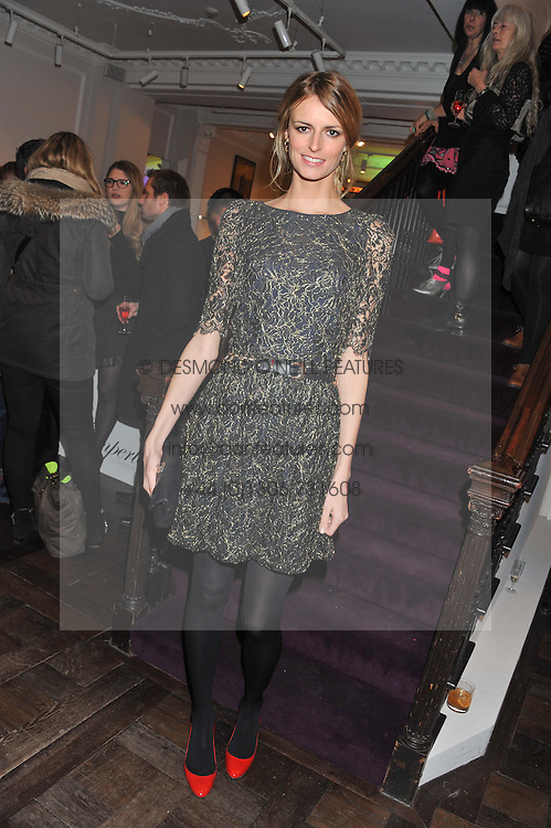 JACQUETTA WHEELER at a party to celebrate thelaunch of Alice Temperley's flagship store Temperley, Bruton Street, London on 6th December 2012.