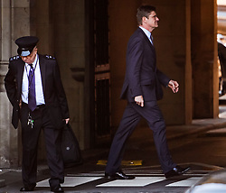 © Licensed to London News Pictures. 04/09/2019. London, UK. GREG CLARK MP is seen at the Houses of Parliament in Westminster, London. British Prime Minister Boris Johnson has a called for a general election after losing his first commons vote and losing his majority, removing his control of parliament. Photo credit: Ben Cawthra/LNP