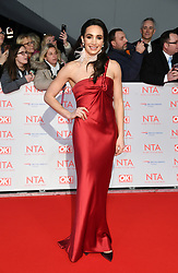 Laura Wright attending the National Television Awards 2018 held at the O2, London. Photo credit should read: Doug Peters/EMPICS Entertainment
