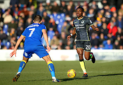 Marc Bola of Bristol Rovers - Mandatory by-line: Robbie Stephenson/JMP - 17/02/2018 - FOOTBALL - Cherry Red Records Stadium - Kingston upon Thames, England - AFC Wimbledon v Bristol Rovers - Sky Bet League One