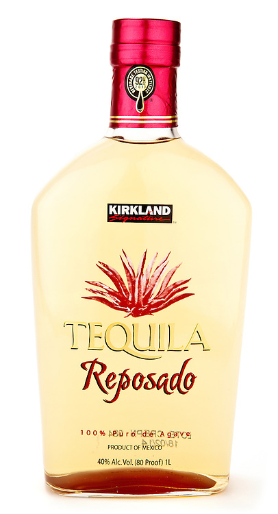 Kirkland (Costco) Signature Tequila Reposado -- Image originally appeared in the Tequila Matchmaker: http://tequilamatchmaker.com