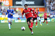 Peter Whittingham of Cardiff city in action. Barclays Premier league, Cardiff city v Everton at the Cardiff city Stadium in Cardiff,  South Wales on Saturday 31st August 2013. pic by Andrew Orchard,  Andrew Orchard sports photography,