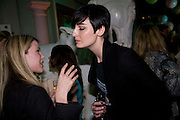 NINA JONES; ERIN O'CONNOR, Vogue Fantastic  Fashion Fantasy Party in association with  Van Cleef and Arpels and to celebrate Vogue's secret address book. 1 Marylebone Rd. London. 3 November 2008 *** Local Caption *** -DO NOT ARCHIVE -Copyright Photograph by Dafydd Jones. 248 Clapham Rd. London SW9 0PZ. Tel 0207 820 0771. www.dafjones.com