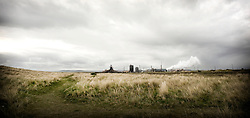 © Licensed to London News Pictures. 29/10/13.Teesside. Tata Steel says it plans to cut up to 500 jobs in Scunthorpe, Workington and Teesside because of weak demand in the construction industry FILE PICTURE of the Steel works on Teesside. Photo credit should read Ian Forsyth/LNP