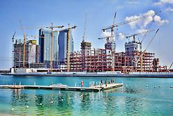 Vista da marina do Rotana Beach Hotel, em Abu Dhabi, lugar onde a equipe do colorado está hospedada. O S.C. Internacional participa de 8 a 18 de dezembro do Mundial de Clubes da FIFA, em Abu Dhabi. FOTO: Jefferson Bernardes/Preview.com