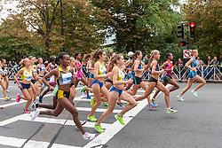 Tufts Health Plan 10K for Women, elite women start race