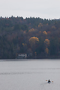 Schroon Lake in the Adirondack Mountains, NY state.