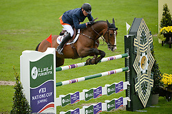 Houtzager Marc (NED) - Sterrehof's Opium<br /> Furusiyya FEI Nations Cup<br /> CSIO Sankt Gallen 2013<br /> © Hippo Foto - Katja Stuppia