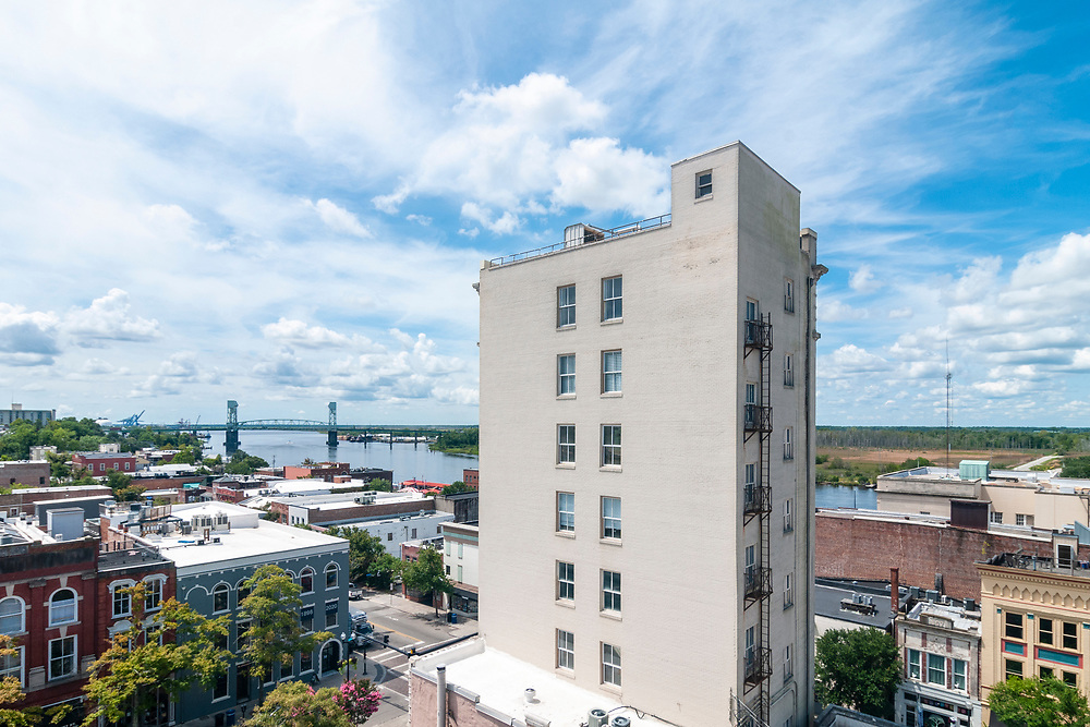 View of Downtown Wilmington, North Carolina on Friday, August 13, 2021. Copyright 2021 Jason Barnette