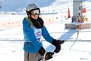 Corinne Schädler, Teilnehmerin beim Renzo's Schneeplausch vom 23. Januar 2016 in Vella, Gemeinde Lumnezia.