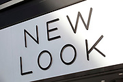 Sign for clothing shop New Look.