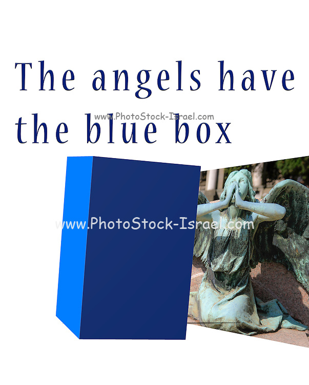 Famous humourous quotes series: The angels have the blue box dr who