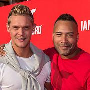 NLD/Amsterdaml/20180902 - Everon Jackson Hooi Lanceert boxerliijn  IAMTORO, Ferry Doedens en Everon Jackson Hooi