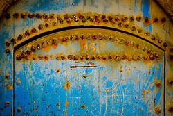 Detail of an old doorway in Essaouira, Morocco<br /> <br /> (c) Andrew Wilson | Edinburgh Elite media