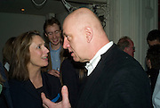 SUSAN BOYD AND ROBERT FENTON, party to celebrate the 100th issue of Granta magazine ( guest edited by William Boyd.) hosted by Sigrid Rausing and Eric Abraham. Twentieth Century Theatre. Westbourne Gro. London.W11  15 January 2008. -DO NOT ARCHIVE-© Copyright Photograph by Dafydd Jones. 248 Clapham Rd. London SW9 0PZ. Tel 0207 820 0771. www.dafjones.com.