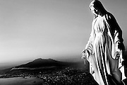 Virgin Mary statue in Naples