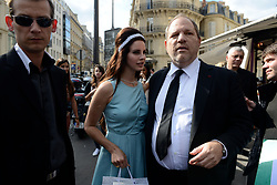 Lana Del Rey enjoys a day with her sister (Blonde Hair) after lunch with Harvey Weinstein at L'Avenue Restaurant in Paris, France, on July 2, 2012. Photo by ABACAPRESS.COM    326224_016