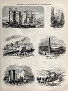 Gallery of Scripture illustrations from ' The Doré family Bible ' containing the Old and New Testaments, The Apocrypha Embellished with Fine Full-Page Engravings, Illustrations and the Dore Bible Gallery. Published in Philadelphia by William T. Amies in 1883