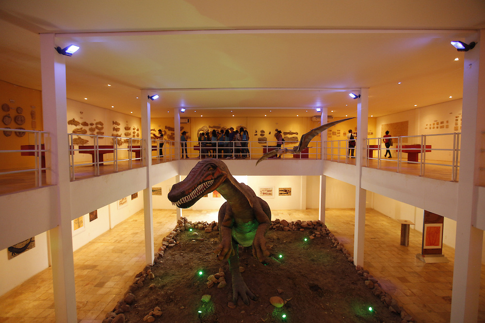 Santana do Cariri_CE, Brasil.<br /> <br /> Trabalho expotos no Museu de Palenteologia da cidade. O vale do Cariri e uma regiao com grande numero de fosseis pre-historicos.<br /> <br /> Paleontology Museum in Santana do Cariri. The valley Cariri is a region with a large number of prehistoric fossils.<br /> <br /> Foto: LEO DRUMOND / NITRO