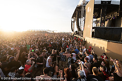 The mash pit was full of energy at the punk rock festival Surf City Blitz, which was staged together with the RSD Moto Beach Classic. Huntington Beach, CA, USA. Sunday October 28, 2018. Photography ©2018 Michael Lichter.The punk rock festival Surf City Blitz was staged together with the RSD Moto Beach Classic. Huntington Beach, CA, USA. Sunday October 28, 2018. Photography ©2018 Michael Lichter.